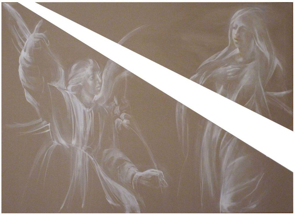 2013 Annunciazione olio su tela cm 120x90